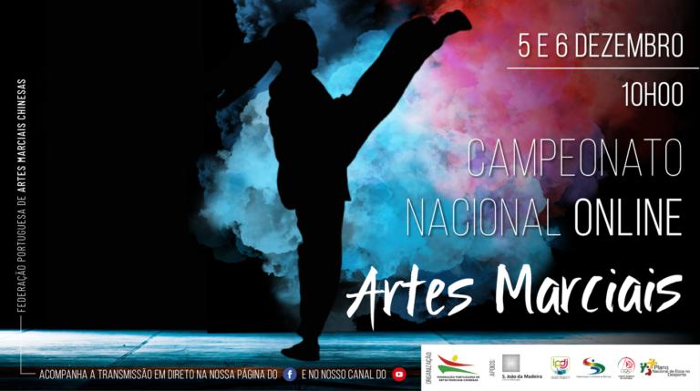 CAMPEONATO ONLINE – ARTES MARCIAIS